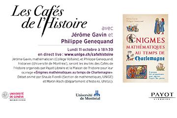 Join us live online to discuss «  Énigmes mathématiques au temps de Charlemagne »