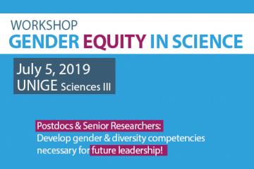 Workshop: Gender equity in science