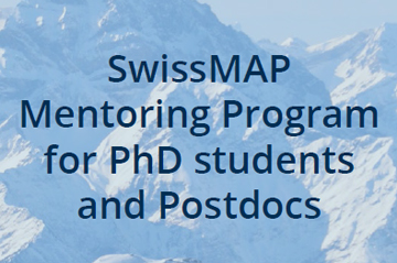 SwissMAP PhD and Postdoc Mentoring Program leaflet
