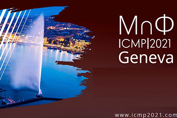 The ICMP 2021 submission deadline extended  for contributed talks, posters and financial requests
