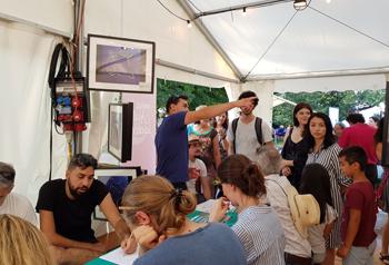 Mathscope at the Nuit de la Science 2018