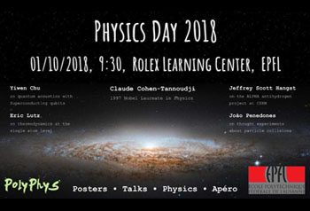 Physics Day at EPFL