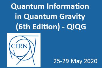 Postponed - Quantum Information in Quantum Gravity (6th edition) - QIQG