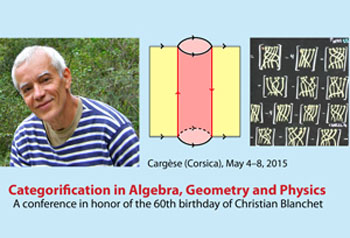 Categorification in Algebra, Geometry and Physics conference