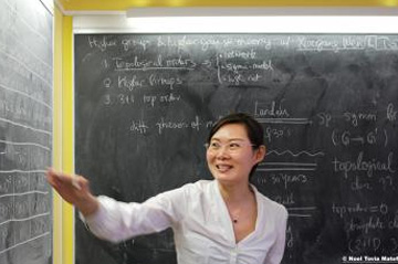 Women at the Intersection of Mathematics and High Energy Physics