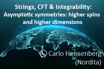 """The """"Strings, CFT & Integrability"""" group seminars will now take place online"""