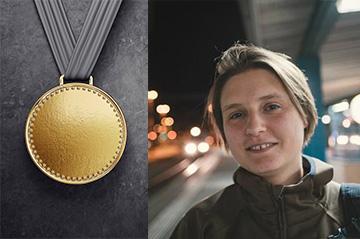Maryna Viazovska receives the 2019 Fermat Prize