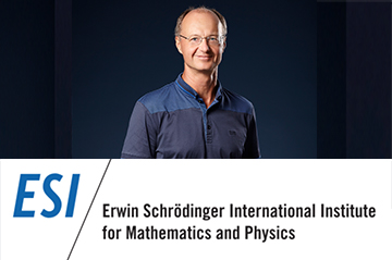 The Medal of the 2020  Erwin Schrödinger Institute for Mathematics and Physics is awarded to our Deputy Director Anton Alekseev