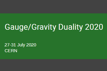 New dates for the Gauge/Gravity Duality: 26- 30 July 2021