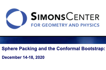 Sphere Packing and the Conformal Bootstrap: December 14-18, 2020