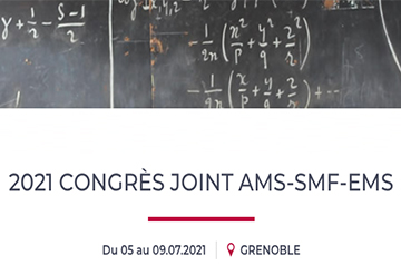 Alessio Figalli and Hugo Duminil-Copin will be plenary speakers at the AMS-EMS-SMF Joint International Meeting