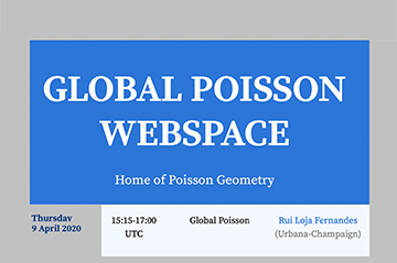 Global Poisson Webinar series
