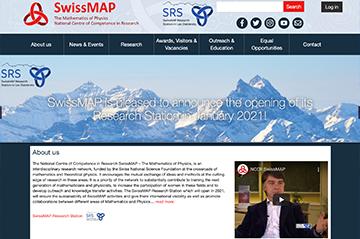 New NCCR SwissMAP website