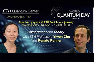 World Quantum Day interview-talk with Renato Renner (ETH Zurich)