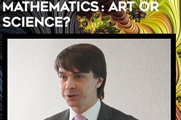 """Mathematics: Art or Science?"" talk by Stanislav Smirnov at Colloque Wright"