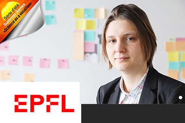 Our member Maryna Viazovska featured on the EPFL Summer Series, Science as a vocation